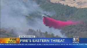 News video: Cal Fire Maintains Aerial Firefight On Kincade Fire In Sonoma County