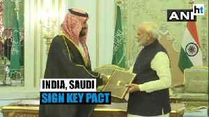 PM Modi meets Saudi prince: Strategic Partnership Council pact signed [Video]