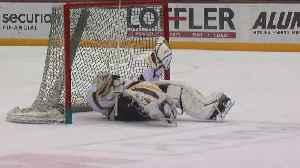 P.J. Fleck Gives Hockey A Try [Video]
