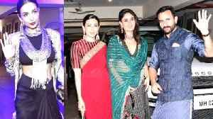 Diwali 2019: Inside Kareena Kapoor, Saif Ali Khan's celebrations with Sara, Ibrahim, Taimur. [Video]