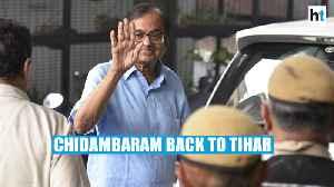P. Chidambaram sent to 14-day judicial custody, will go back to Tihar jail [Video]