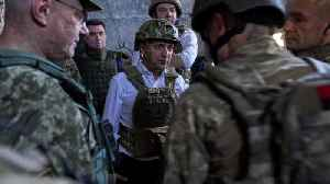 Ukraine troop withdrawal sparks hopes for revived peace process [Video]