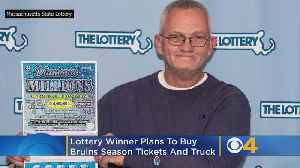 Halifax Man Wins $1 Million On Scratch Ticket, Plans To Buy Bruins Season Tickets [Video]