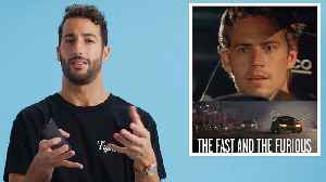Daniel Ricciardo Breaks Down Racing Movies [Video]