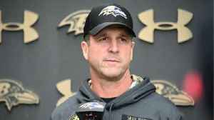 Ravens' Harbaugh on New England Patriots' cover-0 scheme [Video]