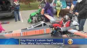 Boy Pilots Custom-Built Star Wars Themed Halloween Costume For His Wheelchair [Video]