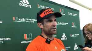 Manny Diaz on naming Jarren Williams starting quarterback [Video]