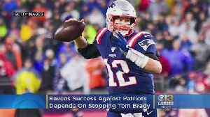 Ravens' Success Vs. Patriots Hinges On Stopping Ageless Tom Brady [Video]