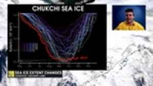 Arctic sea ice is at lowest on record in late October 2019 [Video]
