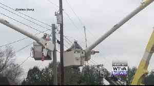 Tombigbee Electric making great progress with power outages [Video]