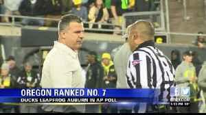 Oregon reaches No. 7 in AP Poll [Video]