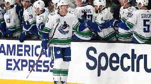 Boeser's third NHL hat trick [Video]