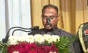 Girish Chandra Murmu takes oath as the first Lt. Governor of  Jammu and Kashmir | OneIndia News [Video]