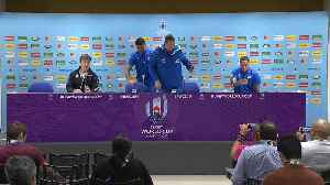 Press conference: Hansen, Mo'unga and Smith on facing Wales [Video]