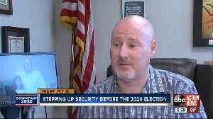 Supervisor of Elections across the state training in cyber security to protect 2020 election [Video]
