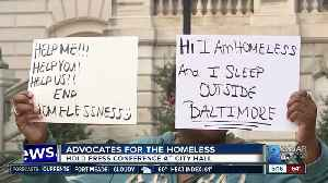 Homeless advocates want to know the city's plan for the homeless to survive winter [Video]