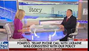 Mike Pompeo doubles down: Trump did nothing wrong on Ukraine call [Video]