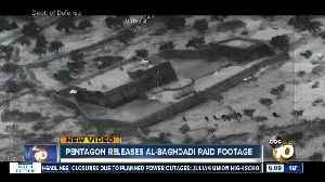 Pentagon releases Al-Baghdadi raid footage [Video]