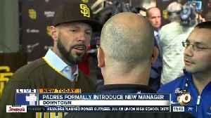 Padres introduce new head coach Jayce Tingler [Video]