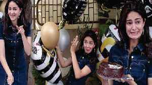 OMG ! Ananya Pandey WARNS Sara Ali Khan | Ananya Pandey Birthday Party Celebration [Video]