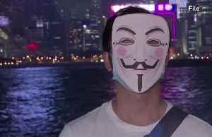 Hong Kong Halloween protests to test mask ban [Video]