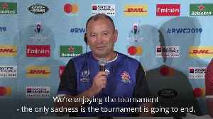 Eddie Jones: England will play with no fear in Rugby World Cup final [Video]