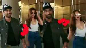 Kriti Kharbanda and Her Rumoured boyfriend Pulkit Samrat returned from Delhi [Video]
