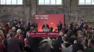 News video: Jeremy Corbyn taunts PM over Brexit 'failure' at Labour campaign launch