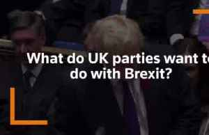 As Britain's election nears, what do the main parties want to do about Brexit? [Video]