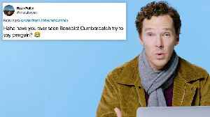 Benedict Cumberbatch Goes Undercover on the Internet [Video]