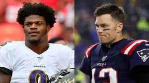 Ravens' Lamar Jackson on facing Patriots' Tom Brady [Video]