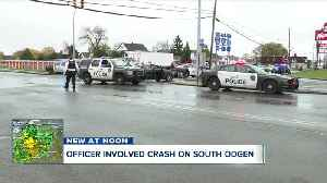 Buffalo police officer-involved crash Thursday morning [Video]