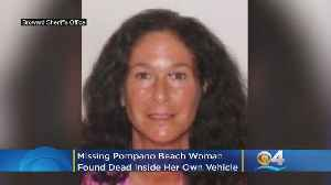 Missing Pompano Beach Woman Found Dead Inside Her Own Vehicle [Video]