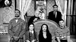 Live's Halloween Viral Edition: The Addams Family Redo [Video]
