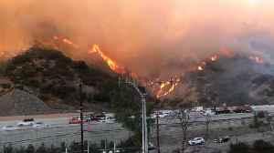 Dangerous Desert Winds Whips Up More LA Area Fires [Video]