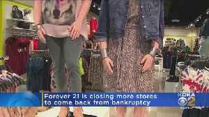 Bankrupt Forever 21 Closing 200 Stores [Video]
