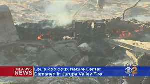 46 Fire In Jurupa Valley Ignites Near End Of Car Chase, Forces Evacuations [Video]