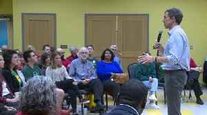 Beto O'Rourke Holds Meeting on Gun Control in Sandy Hook Community [Video]
