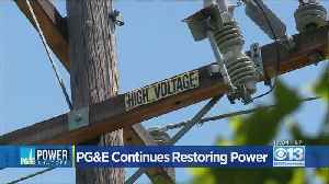 PG&E Says More Than 36K Customers Still In The Dark Following Oct. 29 PSPS [Video]