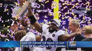Hall-Of-Famer Ed Reed To Get Ring Of Excellence During Ravens-Patriots Game [Video]