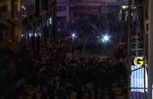 Hong Kong protests crash into Halloween [Video]