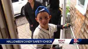 Police chief suggests common-sense Halloween candy check [Video]