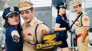 Dabangg 3 | Preity Zinta's H0T Police Girl Look With Salman Khan Out Now! [Video]