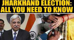News video: EC announces Jharkhand Assembly Election dates | Oneindia News