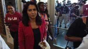 News video: Tulsi Leads Kamala In New Poll