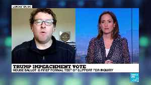 """Robert Gutsche on France 24: """"The Senate could have to decide on impeachment at the time of the 2020 election"""" [Video]"""