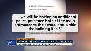 West Allis Police investigate Snapchat threats at Nathan Hale High School [Video]
