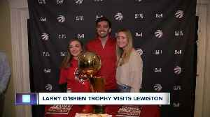 NBA championship trophy comes to Western New York [Video]