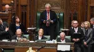 'Order!': U.K. House Of Commons Speaker John Bercow Steps Down [Video]