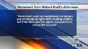 Robert Kraft's attorneys respond to state's appeal in spa case [Video]